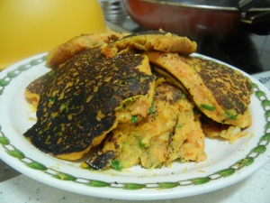 Carrot and Zucchini Fritters 018