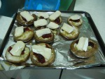 Brie and Cranberry Mushrooms 004