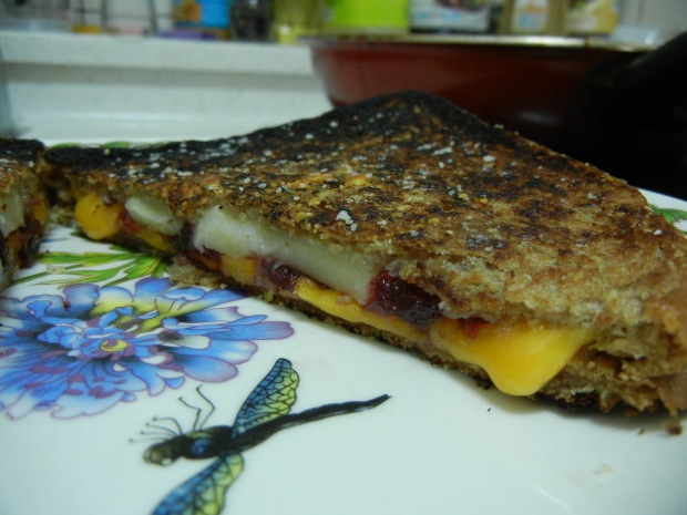 Cranberry Grilled Cheese 005