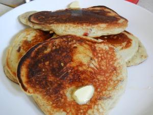 Cranberry Pancakes 005