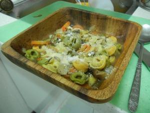 Mushroom Tortellini Soup 011