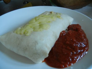 Simple Breakfast Burrito 011