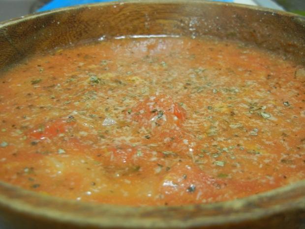 Chunky Tomato and Basil Soup 007