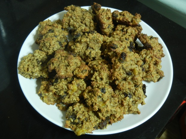 Banana Oatmeal Breakfast Cookies 013