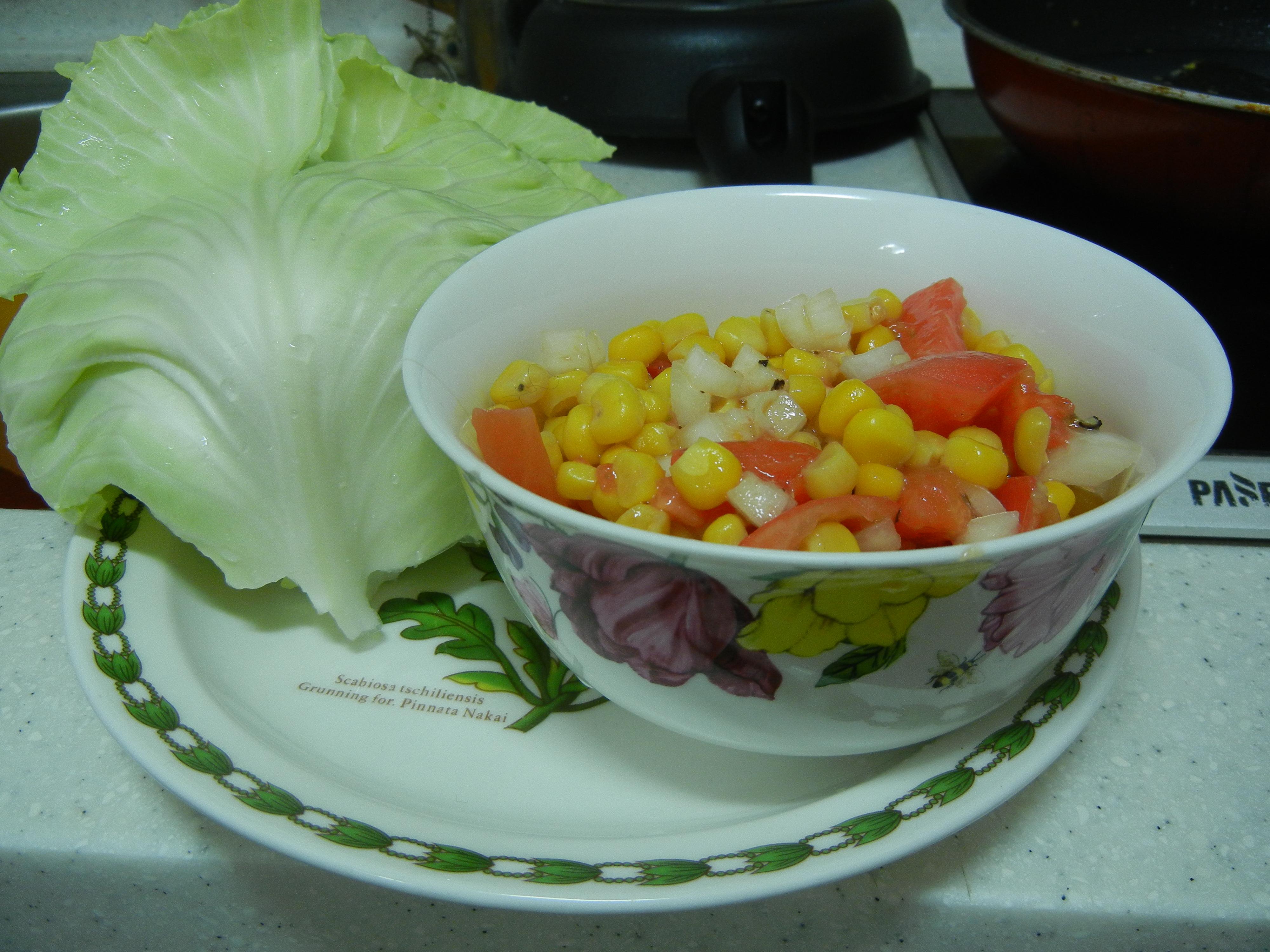 Roasted Corn and Lemon Salad | Oven-lovin'