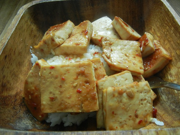 Spicy Baked Tofu 002