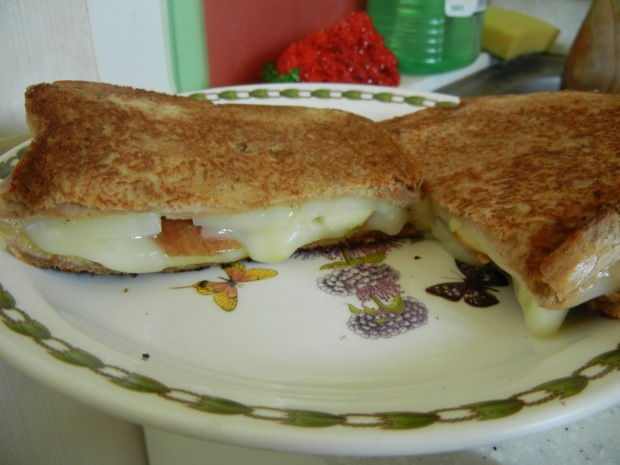 Mozzarella Apple Grilled Cheese 005