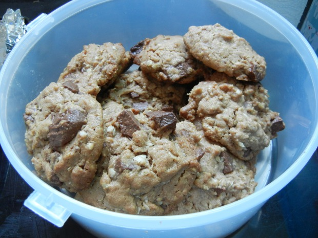 PB Nutella Chocolate Chip Cookies 004