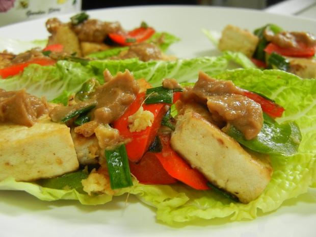 Tofu Lettuce Wraps 011