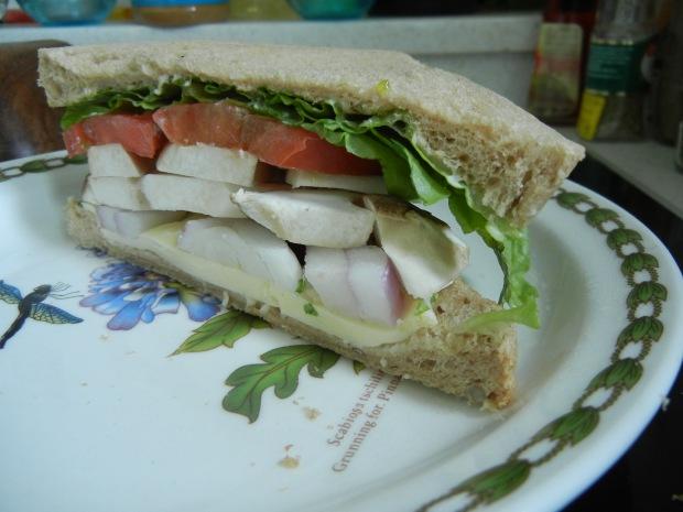 Mushroom Sandwich 005