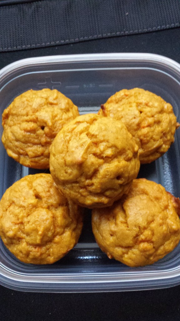 Carrot Pumpkin Muffin
