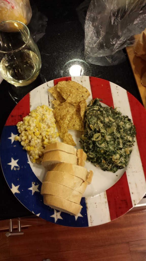 Creamed Corn and Spinach Dip